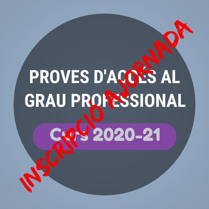 Proves d'accés 2020-21