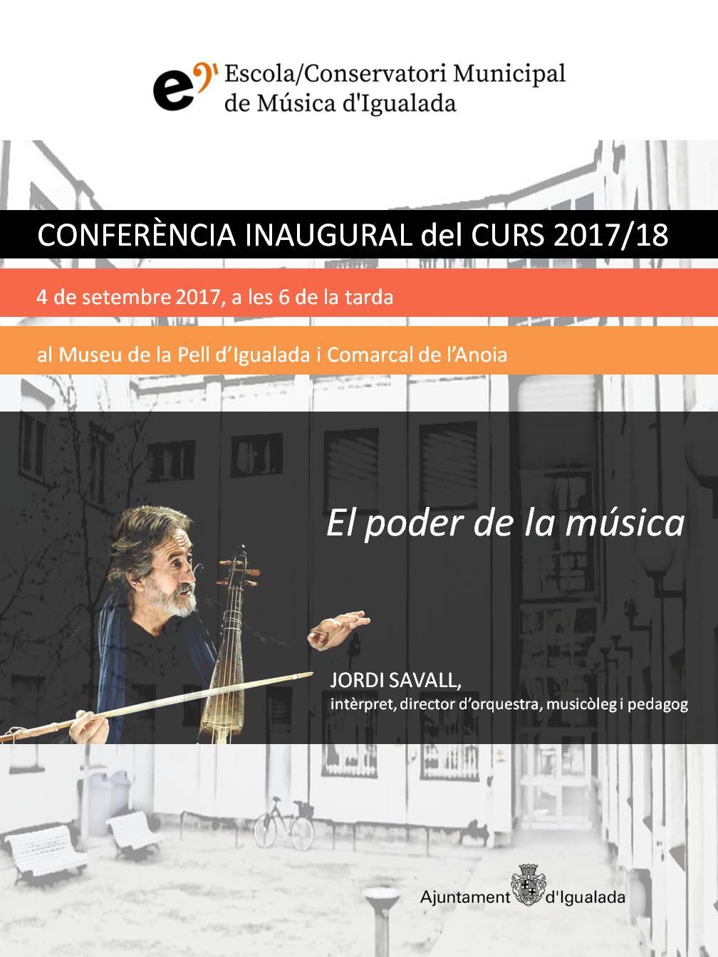 Conferència inaugural del curs 2017-18