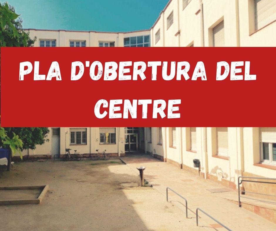 Pla d'obertura del centre