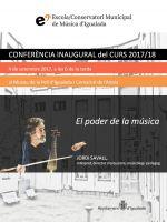 Conferència Inaugural del curs 2017/18 a càrrec de Jordi Savall